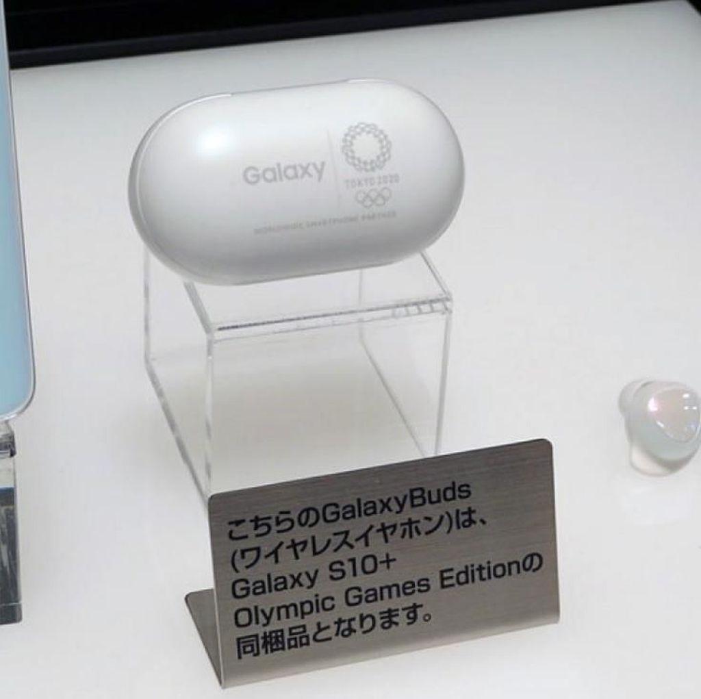 Penampakan Galaxy S10+ Edisi Khusus Olimpiade Tokyo 2020