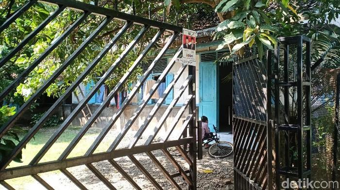 Rumah kontrakan terduga teroris JP (Foto: Sugeng Harianto)