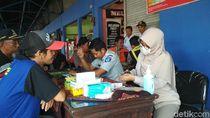 Jelang Lebaran, Awak Bus di Terminal Kota Blitar Diperiksa Kesehatannya