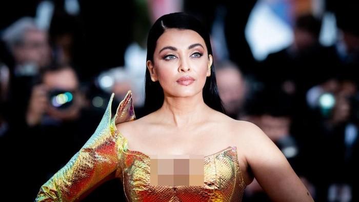 Tetap memukai, Aishwarya Rai punya rahasia cantik dan sehat yang simpel. Foto: Getty Images