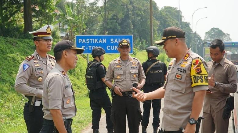 Sekat Massa Aksi 22 Mei di Bogor, Polisi Amankan Pria Bawa Ketapel
