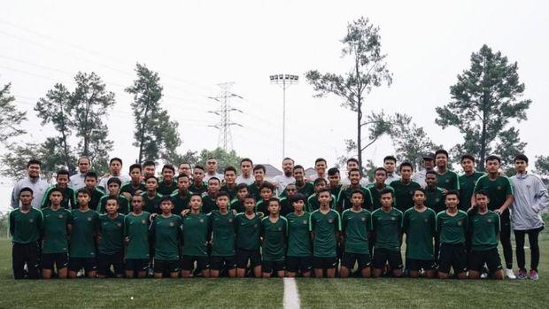 Tristan Alif tersingkir dari seleksi Timnas Indonesia U-16.