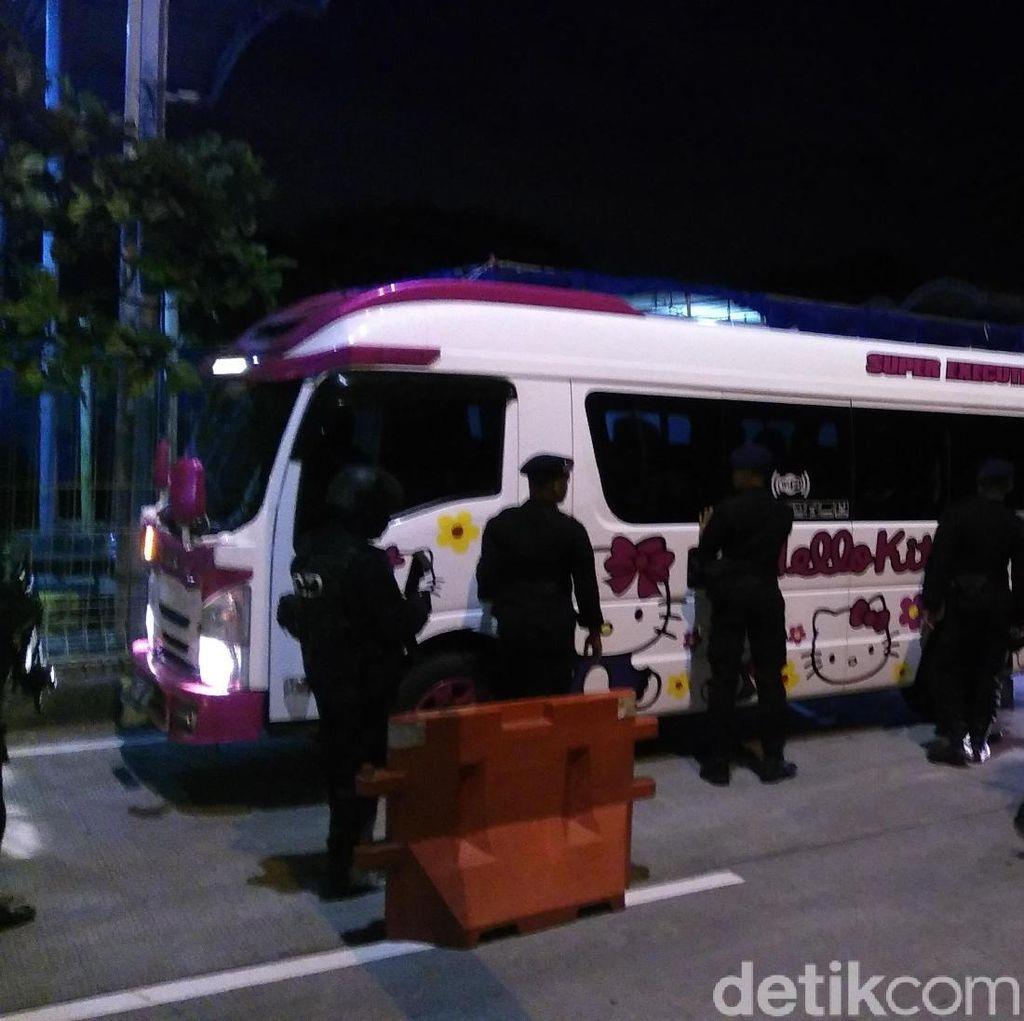 Rombongan 2 Bus dan 8 Minibus Hendak Ikut Aksi 22 Mei Dipulangkan