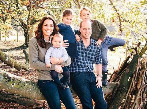 Putri Charlotte berusia empat tahun.
