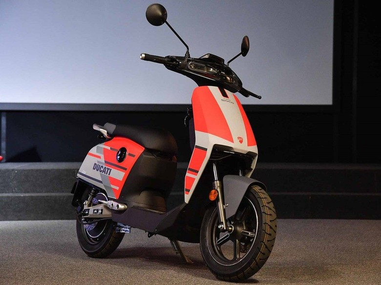 Skuter listrik Ducati. Foto: Istimewa