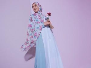 Tutorial Hijab Syari untuk Lebaran, Cocok Dipadukan dengan Dress