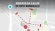 Ini Rekayasa Lalin KPU-Bawaslu Terkait Demo Pemilu