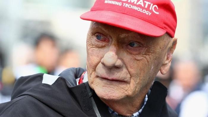 Niki Lauda meninggal di usia 70 tahun (Foto: Getty Images)