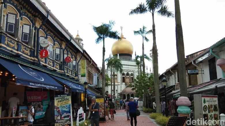 Masjid Sultan di Kampong Glam Singapura (Muhammad Idris/detikcom)