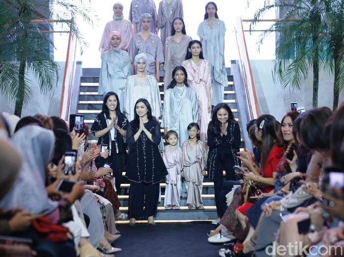 Koleksi kaftan untuk Lebaran 2019 dari Ava Prologue. (Foto: Dok. Plaza Indonesia)