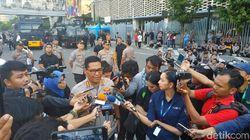 Gegana Amankan Ransel Mencurigakan di Dekat Gedung Bawaslu Saat Massa Demo