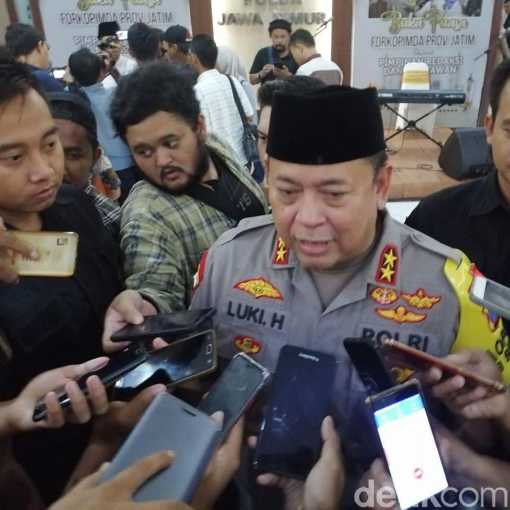 Polda Jatim Klaim Hadang 1.700 Massa Peserta Aksi 22 Mei di Jakarta