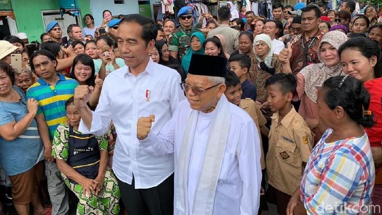 Jokowi Ulang Tahun ke-58, Maruf Amin Kirim Bunga dan Doa