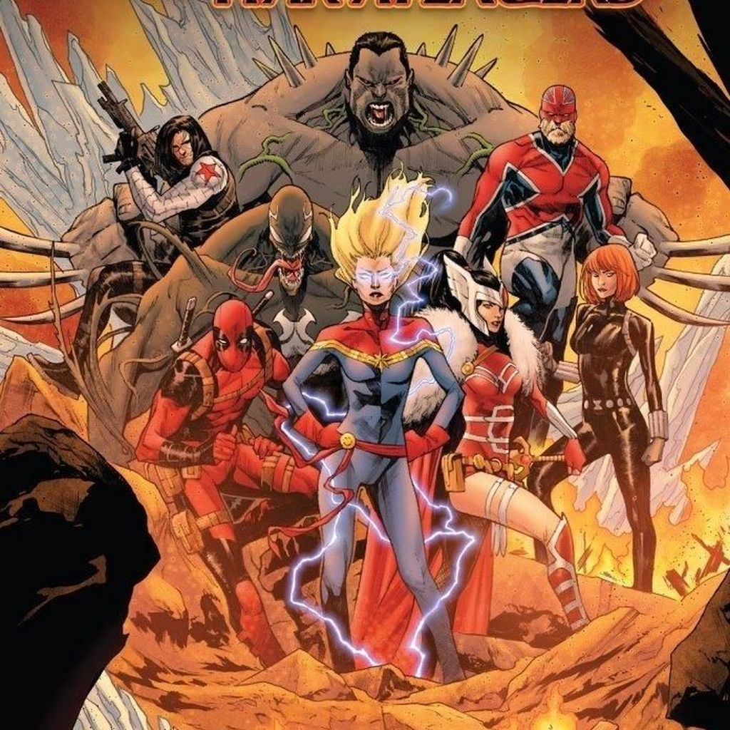 Captain Marvel Pimpin Tim Avengers Terbaru, Ada Deadpool hingga Venom