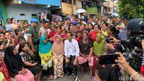 Dapat Bisikan Warga Lanjutkan Kampung Deret, Jokowi akan Izin ke Anies
