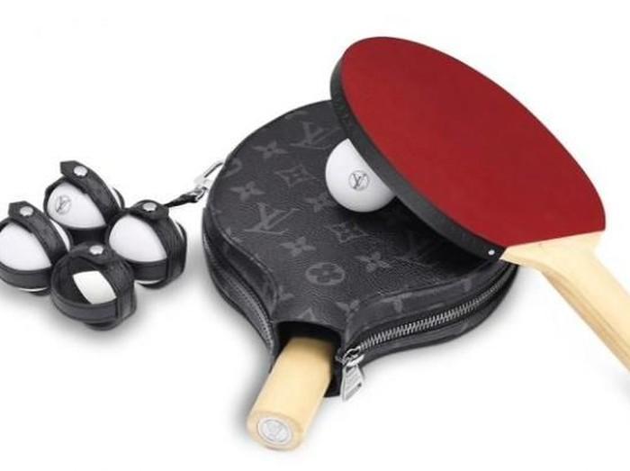 Peralatan pingpong Louis Vuitton seharga Rp 33 juta. (Foto: Dok. Louis Vuitton)
