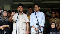 Kapan Prabowo-Sandi Daftarkan Gugatan ke MK?