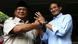 Prabowo Minta Pindah Ibu Kota Diteliti, Sandiaga Ingin Konsep Hati-hati