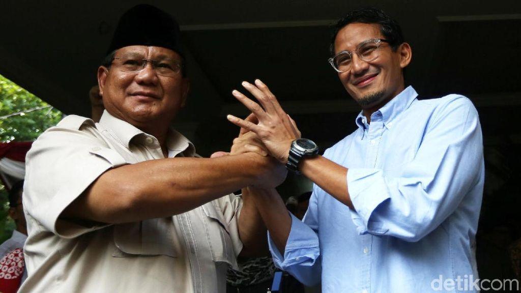 Prabowo-Sandi Daftarkan Gugatan ke MK Hari Ini