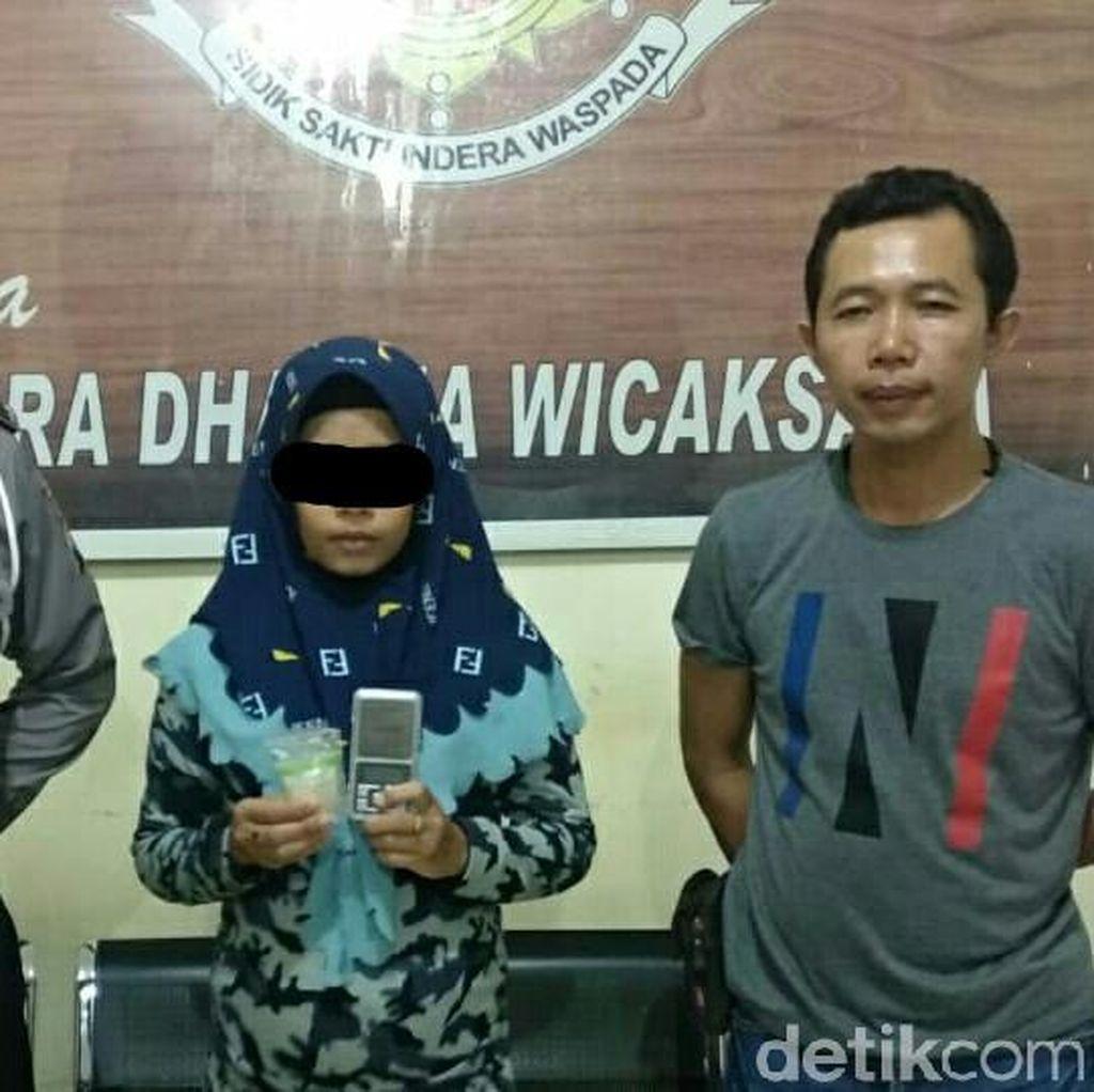 Nekat Edarkan Sabu Karena Suami Ditahan, Ibu Hamil 9 Bulan Diamankan