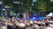 Massa di Depan Bawaslu Bubar, Polisi Buka Jalan MH Thamrin