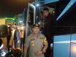 Jelang Aksi 22 Mei, Polisi Periksa Bus di Pintu Tol Tangerang