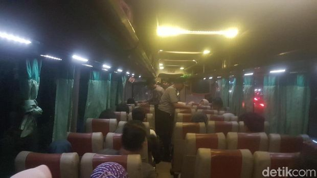 Polres Serang Patroli Bus ke Jakarta