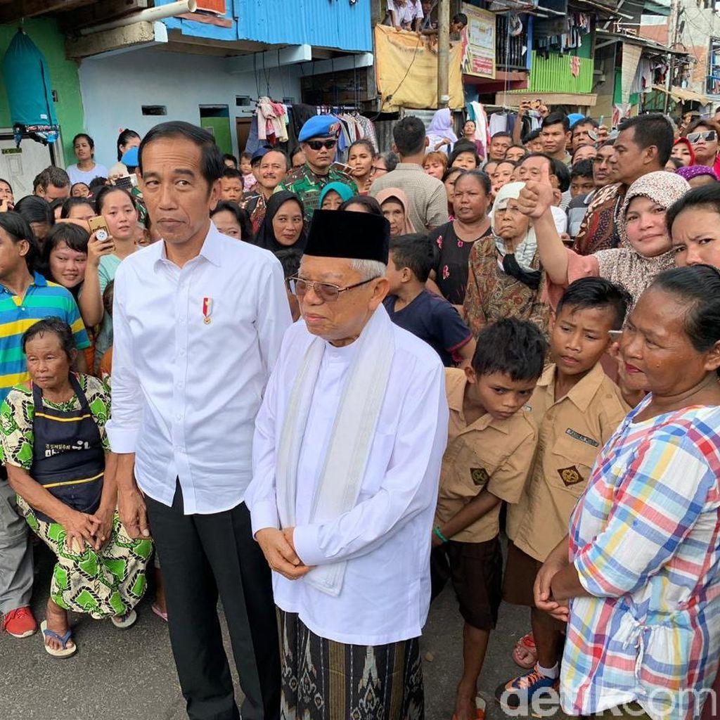 Isi Lengkap Pidato Kemenangan Jokowi-Maruf Amin