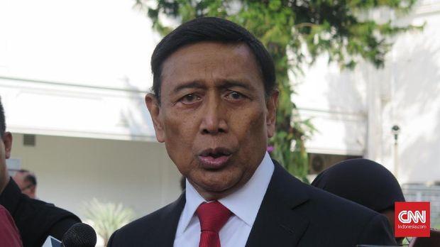 Salah satu tokoh yang diklaim jadi sasaran pembunuhan, Menkopolhukam Wiranto.