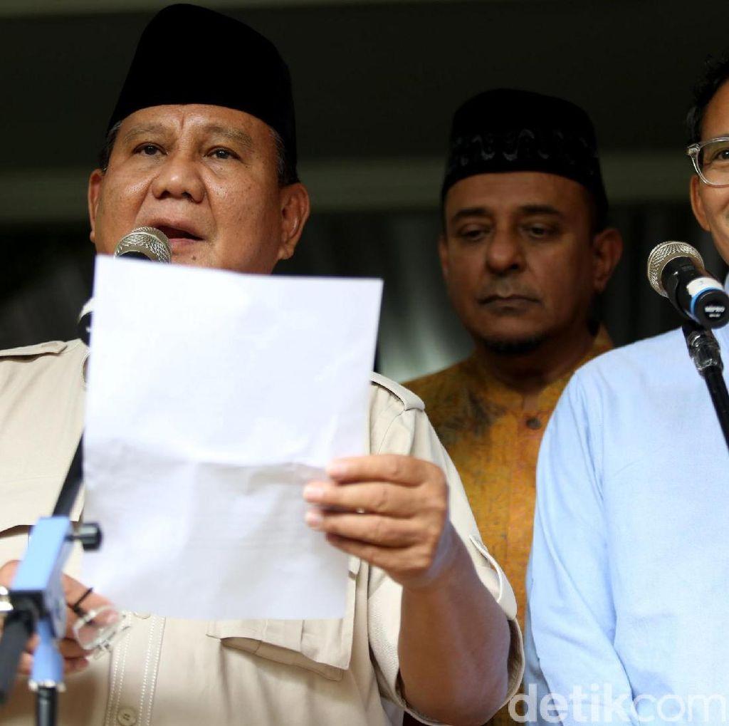 Berubah Pikiran, BPN Kini Mau Gugat Hasil Pilpres 2019 ke MK