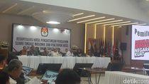 Penetapan Hasil Pilpres: Jokowi 55,50%, Prabowo 44,50%