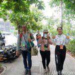 Sukarelawan Piala Sudirman 2019 Penyambung Lidah bagi Wartawan Asing