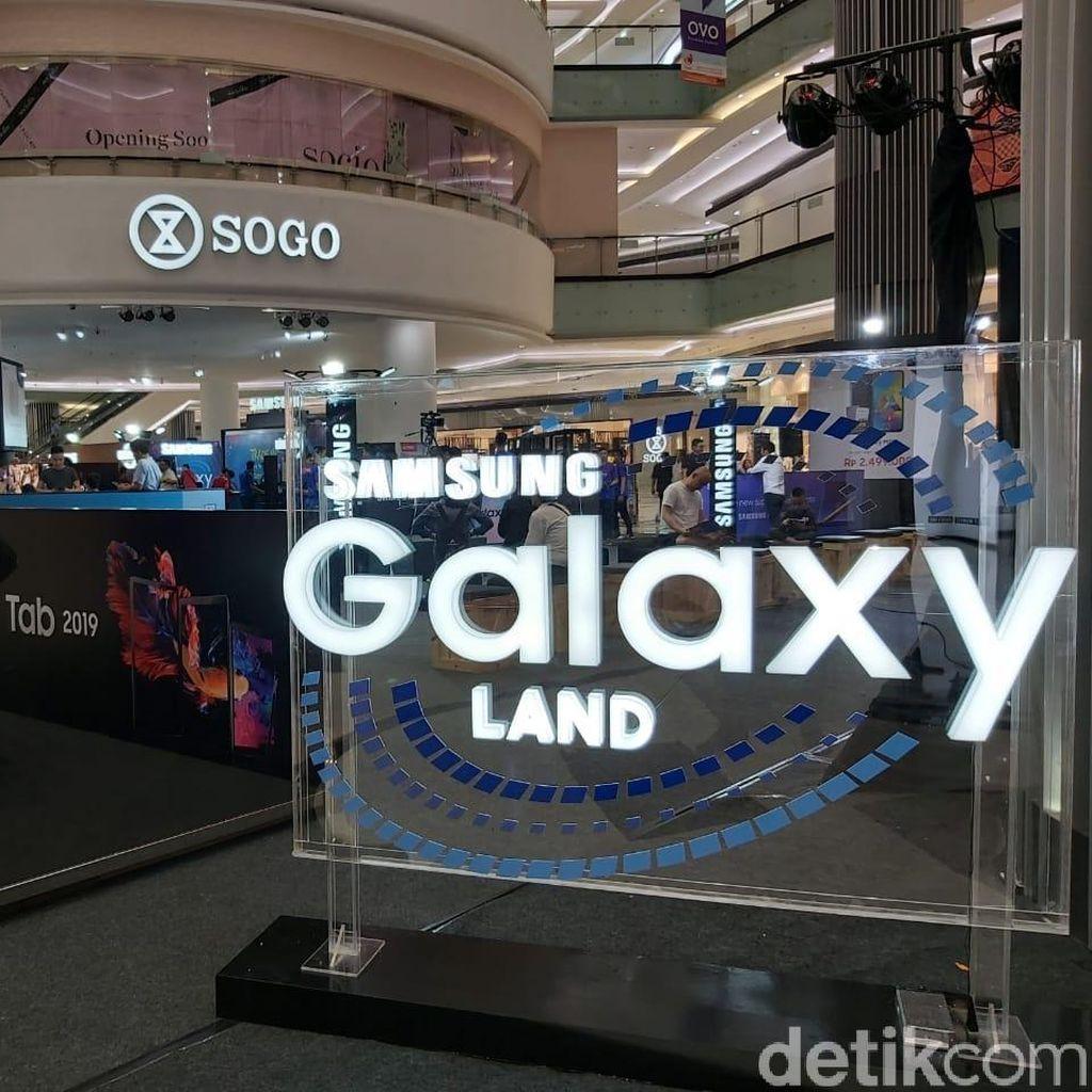 Gelaran Samsung Galaxy Land Pertama di Indonesia