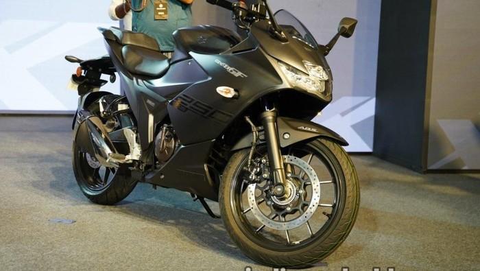 Pesaing CBR250RR dan Yamaha R25 dari Suzuki Seharga Rp 35 Juta