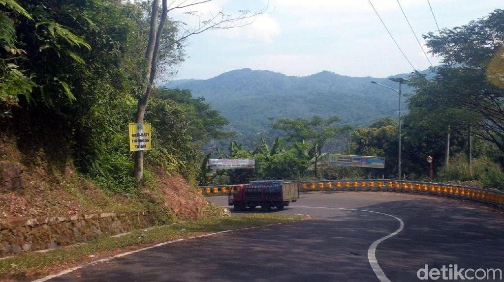 Tips Polisi untuk Warga Lewati Jalur Rawan Cikidang-Palabuhanratu