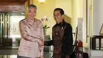 Presiden dan PM Singapura Beri Selamat ke Jokowi yang Menang Pemilu