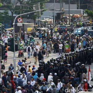 Ada Demo 22 Mei, Layanan Tukar Uang di Monas Tutup
