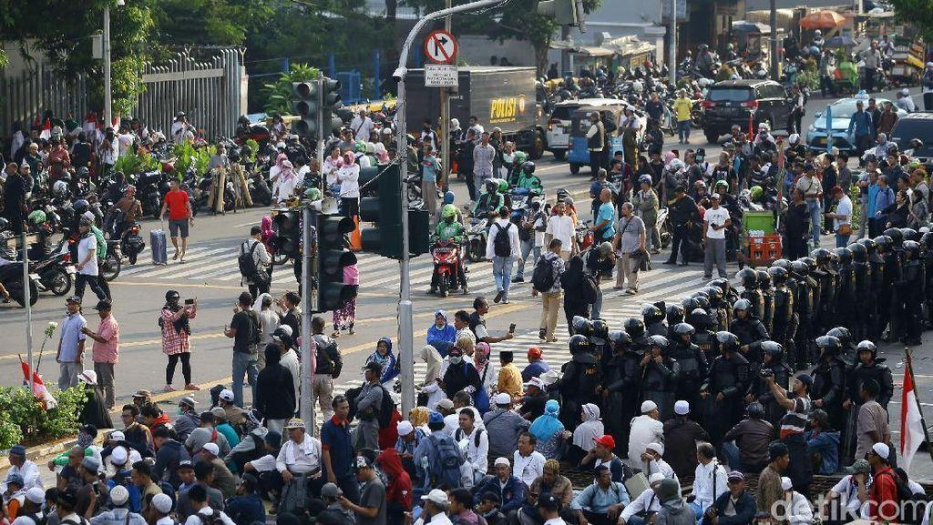 Mal-mal Dijaga Ketat dan Berlapis Imbas Demo 22 Mei