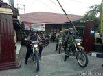 Amankan Wilayah Pelabuhan Makassar, TNI Polri Gelar Patroli