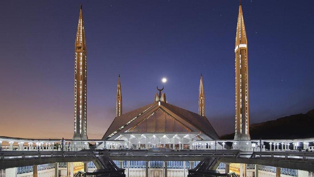 Masjid Faisal, Salah Satu Arsitektur Termegah dan Unik di Dunia