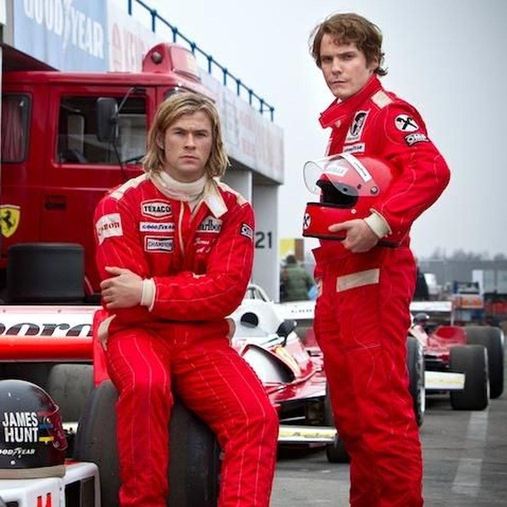 Kenangan Buat Niki Lauda, Daniel Bruhl Contoh Legenda F1 di Rush