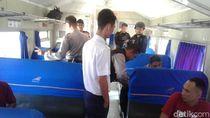 Polisi Periksa Penumpang di 3 Stasiun Cilegon Tujuan Jakarta