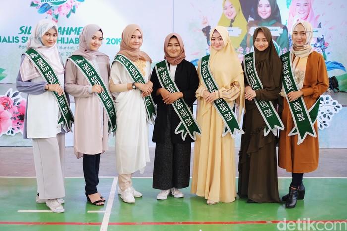 Finalis Sunsilk Hijab Hunt 2019 Sambangi Pesantren Buntet Cirebon. Foto: Silmia Putri/Wolipop