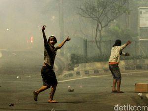Polisi Beberkan Awal Mula Ricuh Massa Brutal Dekat Bawaslu 22 Mei Dini Hari