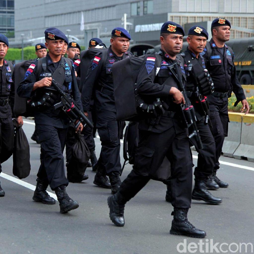 Polda Metro Jaya Terjunkan Personel Tambahan