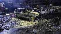 Foto: Mobil-mobil yang Terbakar di Asrama Brimob Petamburan