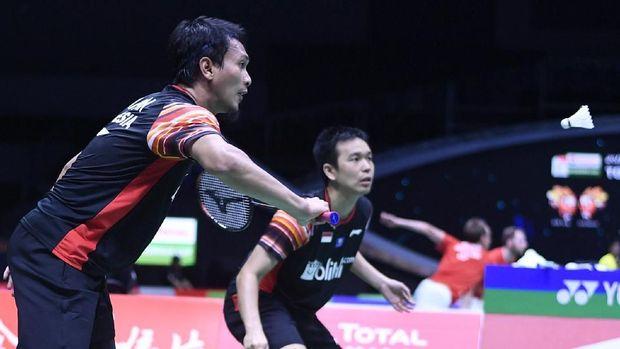 Live Report Piala Sudirman: Indonesia vs Denmark