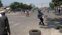 Kondisi Terkini Bentrokan Massa di Jalan Jati Baru