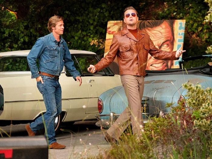 Screenshoot film Once Upon a Time in Hollywood.
