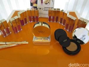 Y.O.U Rilis Makeup Elegan dari Seri The Gold One